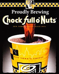 Save EXTRA 10% on<br />Chock Full o'Nuts Coffee!