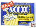 Butter Lovers Act II Microwave Popcorn 28/Case