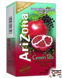Pomegranate & Acai Arizona Green Tea Bags