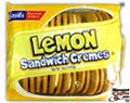 Lemon Sandwich Cremes Cookies 24/Case