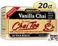 Vanilla Chai Bigelow Tea 20/Box