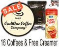 Assorted Cadillac Gourmet Flavored Coffee 16/Case