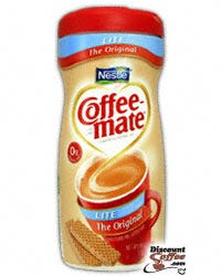 LITE Original Nestle Coffee-mate Creamer Canisters