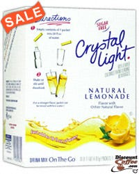 Lemonade Crystal Light On The Go Drink Mix