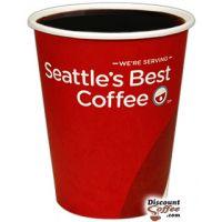 12 oz. Seattle's Best Logo Paper Hot Cups 1,000/Case