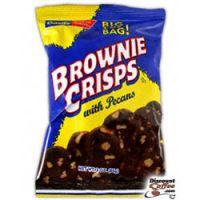 Basil's Brownie Crisps Cookies with Pecans