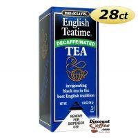 Decaf English Teatime Bigelow Tea Bags 28/Box