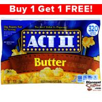 Butter Act II Microwave Popcorn 36/Case