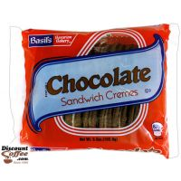 Chocolate Sandwich Cremes Cookies 24/Case