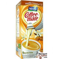 Vanilla Caramel Nestle Coffee-mate Creamer 50/Box