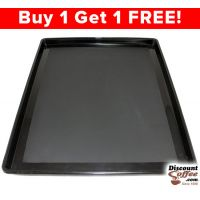 Black Plastic Condiment Tray