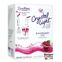 Sugar Free Crystal Light On the Go Raspberry Ice Drink Mix | Bottled Water