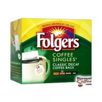Decaf Classic Roast Folgers Coffee Singles