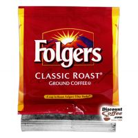 4 Cup Classic Roast Folgers Coffee Filter Packs 200/Case