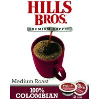 100% Colombian Hills Bros. Coffee Single Cups