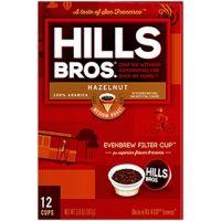 Hazelnut Hills Bros. Coffee Single Serve Cups 12/Box