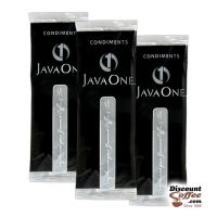 JavaOne Condiment Pack - Sugar, Creamer, Artificial Sweetener, Stir Stick