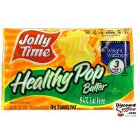 Butter & Sea Salt  Jolly Time Healthy Pop Popcorn 36/Case