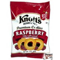 Raspberry Shortbread Knott's Berry Farm Cookies 48/Case