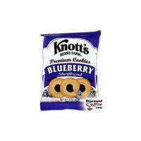 Blueberry Shortbread Vending Cookies