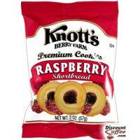 Raspberry Shortbread Knott's Berry Farm Cookies 60/Case