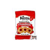 Knott's Berry Farm Strawberry Shortbread Vending Cookies