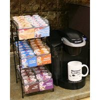 Coffee-mate Display Counter Rack (Filled)