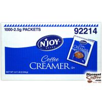 Coffee Creamer Packets NJoy  1,000/Case