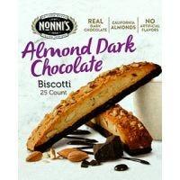 Almond Dark Chocolate Nonni's Biscotti 25/Tub