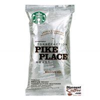 Pike Place Roast Starbucks Ground Coffee | Smooth, Balanced Flavor, Medium Roast 2.5 oz. Bags, 18 ct. Box.