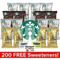 Starbucks Coffee Assortment Variety Pack | Pike Place, Caffe Verona Dark Roast, Decaf Pike Place, Veranda Blend Blonde Roast