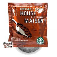 4 Cup DECAF House Blend Starbucks Coffee 120/Case