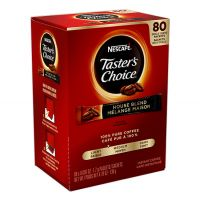 Taster's Choice Nescafe Instant Single Cup Coffee 80/Box
