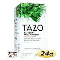 Refresh Mint Tazo Herbal Tea 24/Box