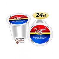 Torani Toasted Hazelnut Single Serve Coffee | 24 count boxes, 100% Arabica, Natural Flavors
