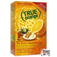 True Orange 32 ct. Box - 0 Calories - Crystallized Orange - 100% Natural