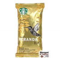 Veranda Blend Starbucks Ground Coffee | Light Body, Medium Acidity Blonde Roast 2.5 oz. Bags, 18 ct. Box.