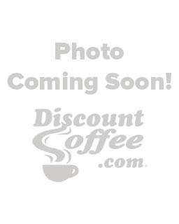 Blue mug of hot pike place roast coffee