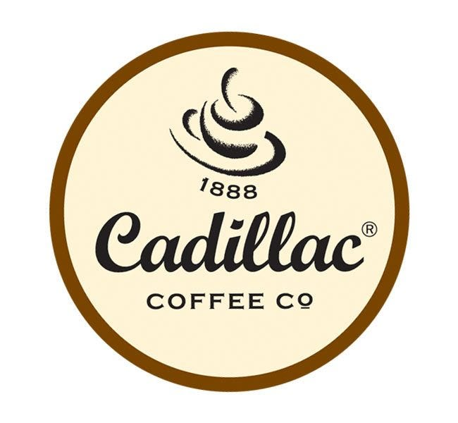 Cadillac Coffee Company | French Roast Ground Espresso Coffee, Dark Roast 2 oz. Bags Brew 12 Cup Pot.