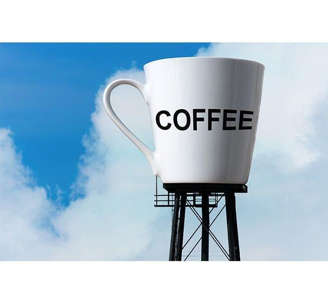 Chock full o'Nuts Coffee Water Tower | Medium Roast Ground Coffee