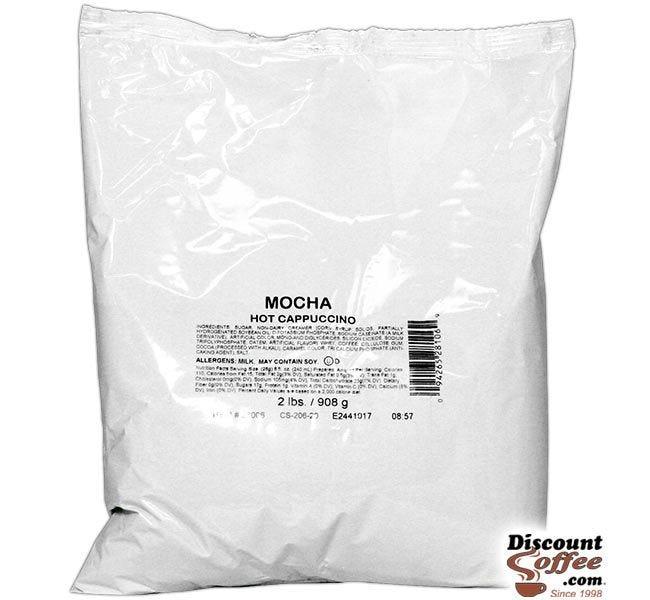 Chocolate Mocha Cappuccino Vending Mix 2 lb. Bag | Refills Commercial Hot Beverage Hopper Machine, Foodservice 6 Bag, 12 lb. Case.