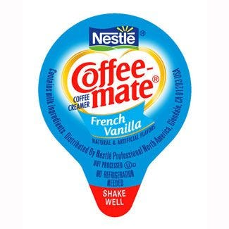 French Vanilla Coffee-mate Creamer Bulk 180/Case