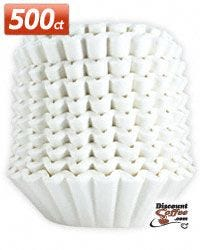 Brew Rite Coffee Filters - Commercial / Institutional Grade Filter - Wide Basket Brewer - 10 to 12 cup Coffee Filter
