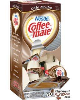 Cafe Mocha Nestle Coffeemate Liquid Creamers - Formerly Creamy Chocolate