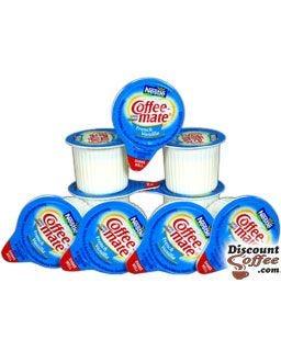 French Vanilla Carnation CoffeeMate Liquid Creamers - 180 Count Bulk Case