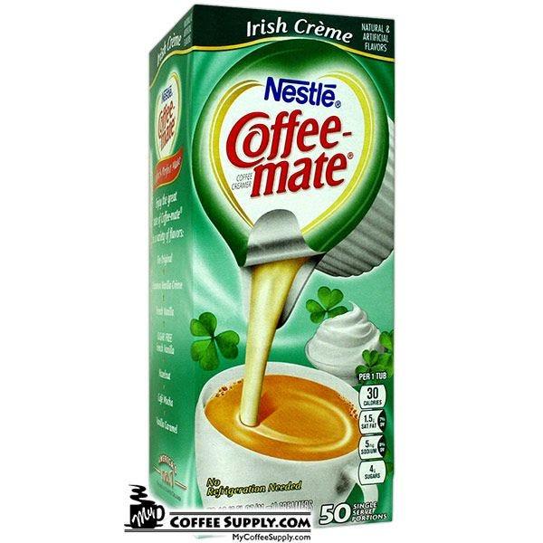 Irish Creme Nestle Coffee-mate Creamer 50/Box