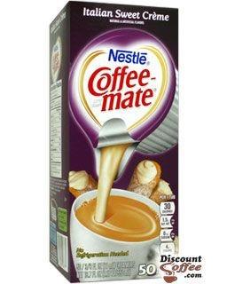 Italian Sweet Creme Nestle Coffeemate Liquid Creamers