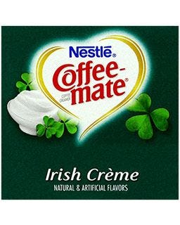Coffee-mate Irish Creme Creamer | Nestle Non-Dairy Coffee Creamer Tubs, Lactose Free, Gluten Free, Kosher