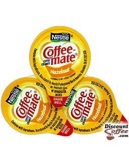 Coffeemate Hazelnut Creamer Tubs, Shelf Stable | Gluten Free, Nestle Non-Dairy Creamer, Kosher