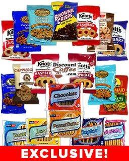 Sun-Maid, Basil's Bavarian Bakery & Knott's Berry Farm Cookie Assortment